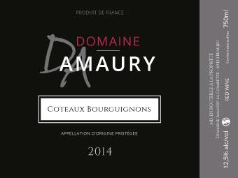 Etiquette Coteaux Bourguignons