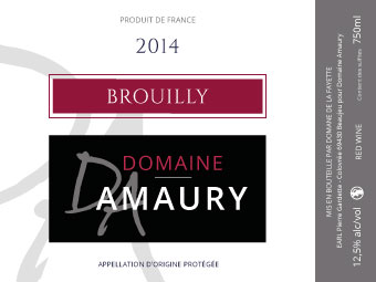 Etiquette Brouilly