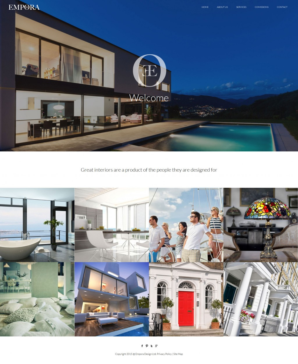 Luxury and Bespoke Kitchens and Bedrooms website