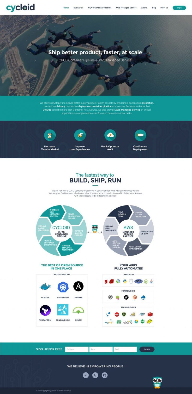Webdesign site web deployment
