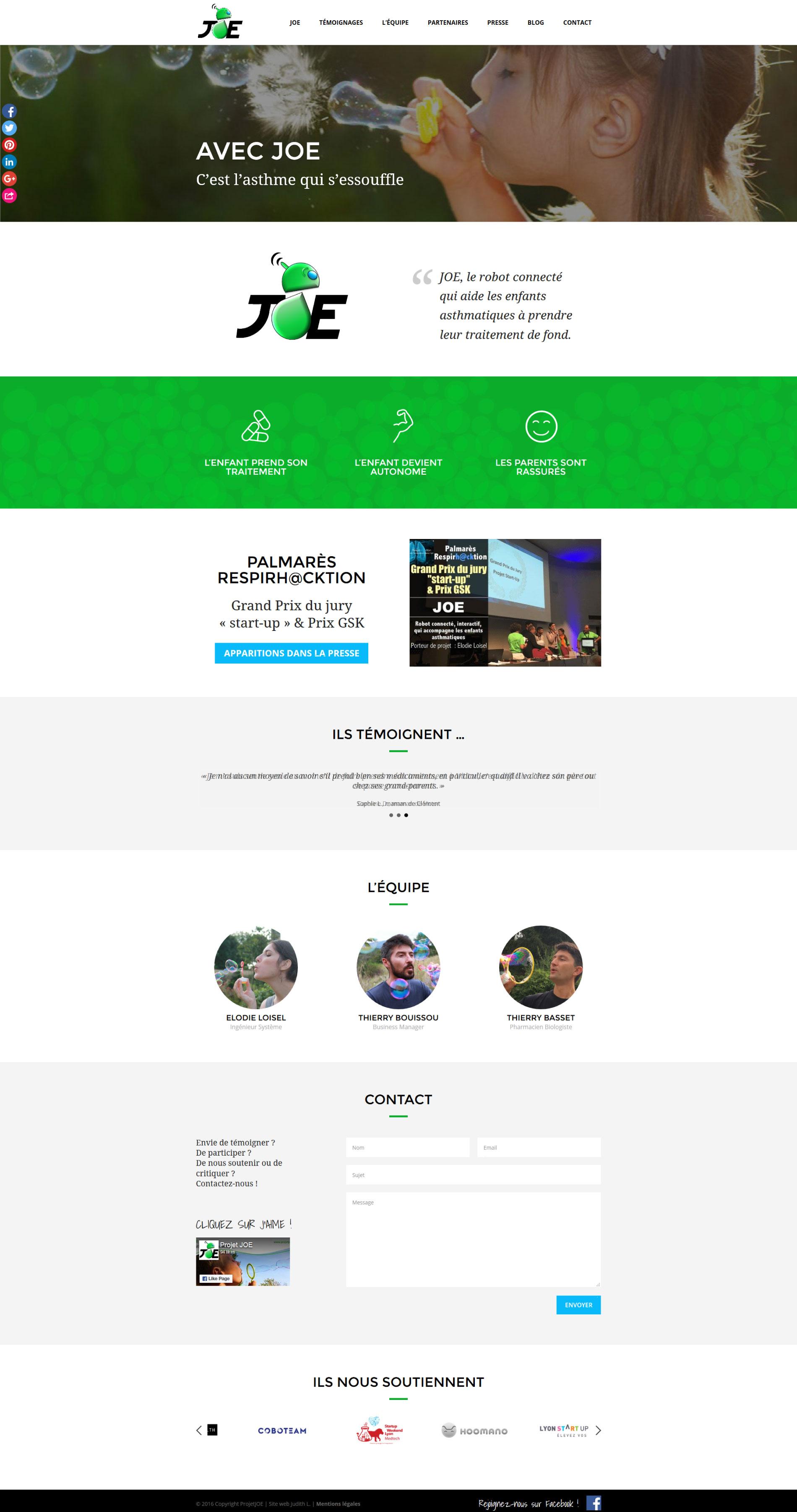 Site web start-up