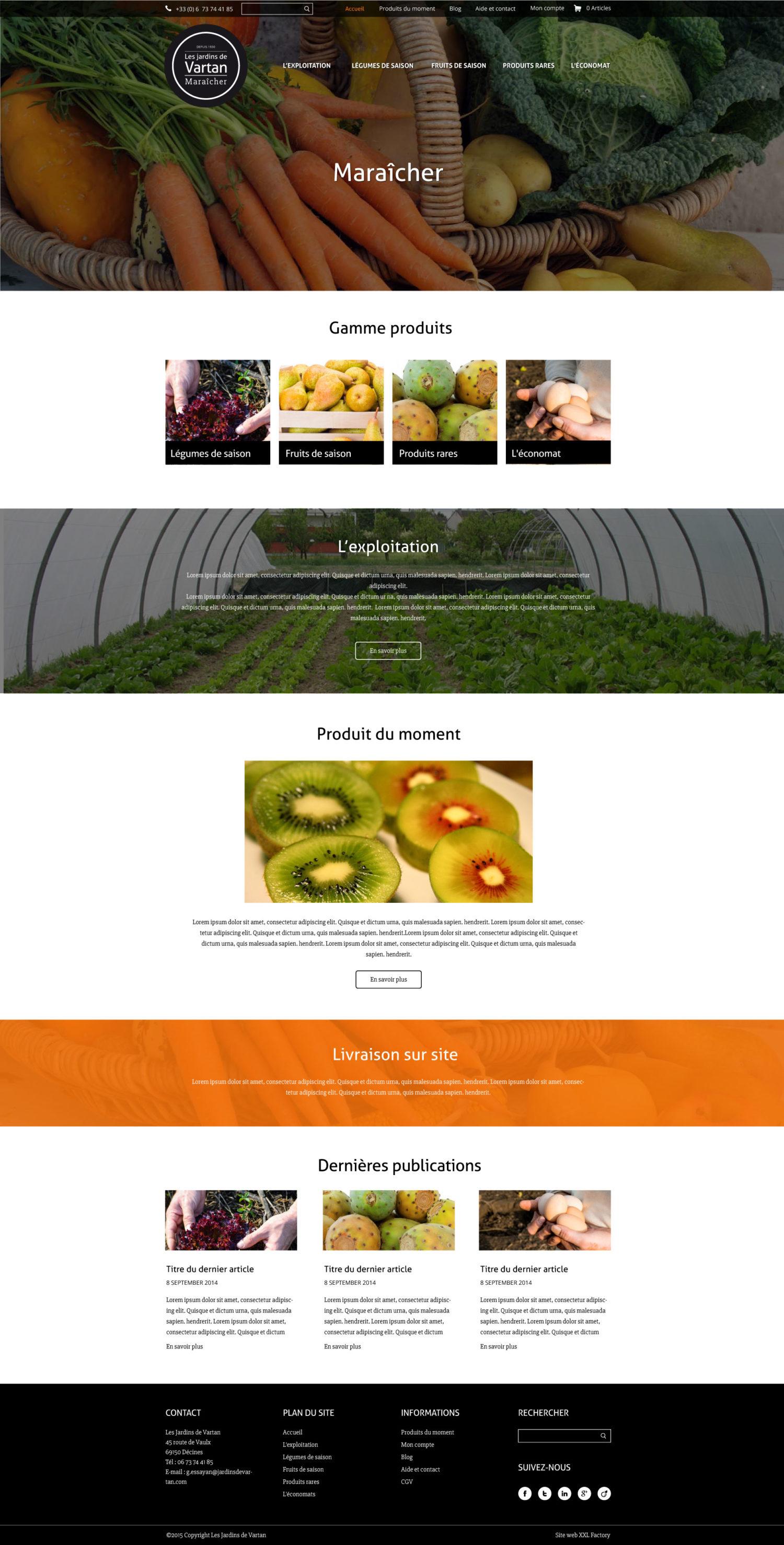 Site web e-commerce