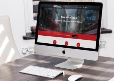 Web marketing agency website