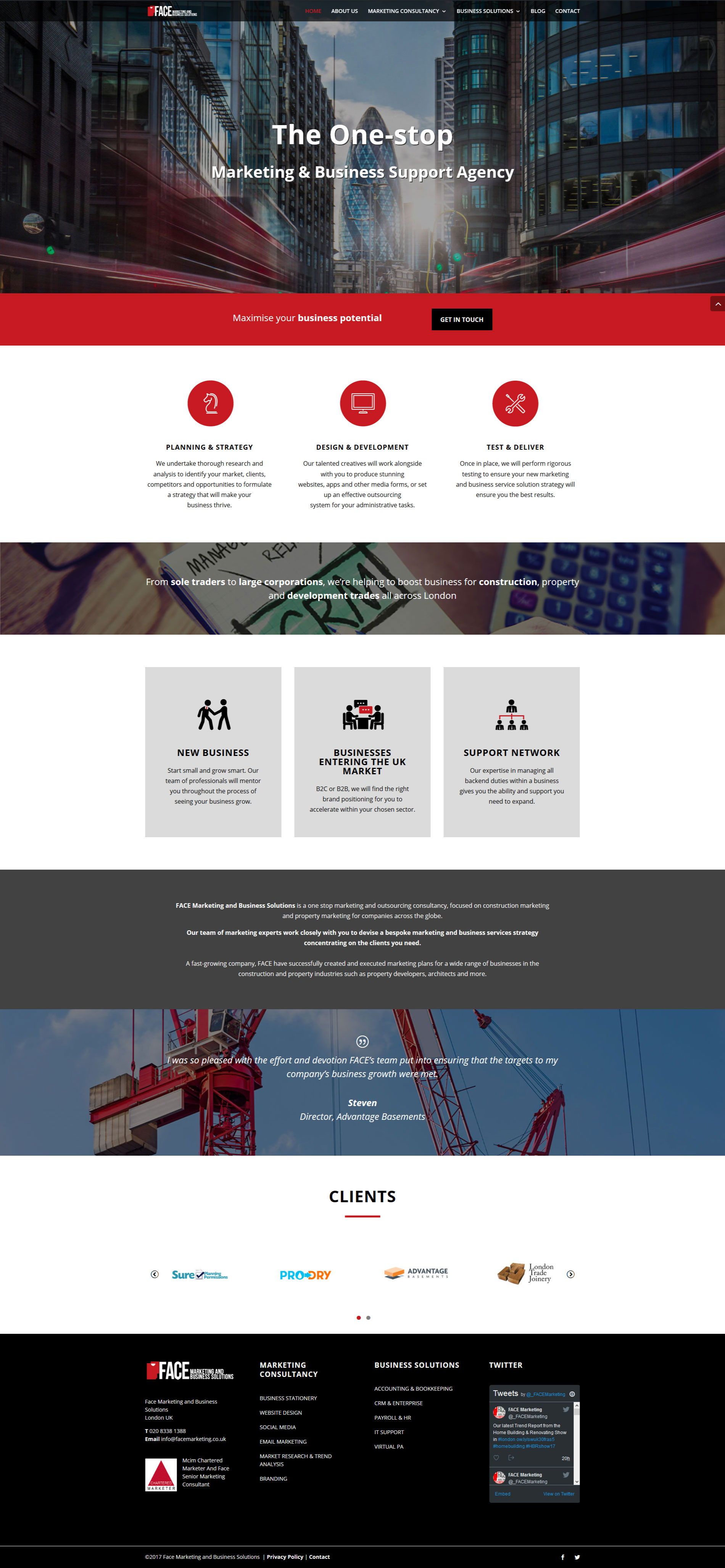 Site web agence web marketing