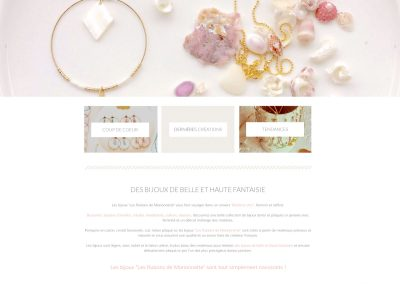 Website e-commerce jewels