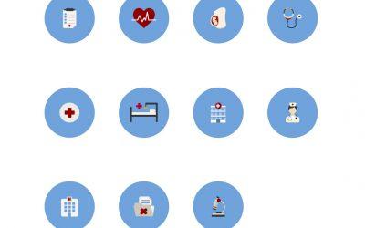 Icônes d'hôpital