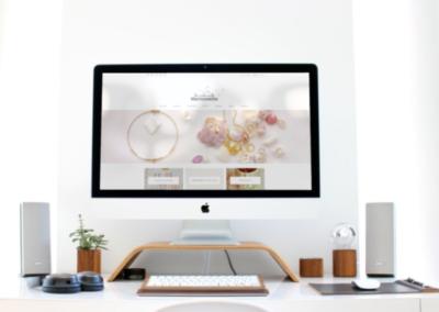 Website e-commerce jewels