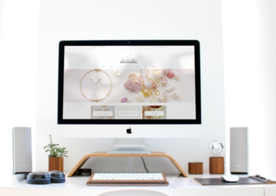 Site web ecommerce bijoux