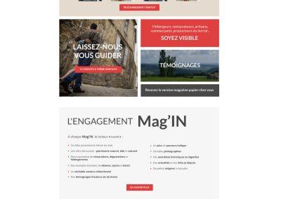 Magazine Website