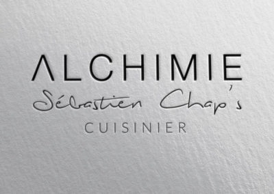 Logo restaurant gastronomique