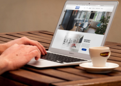 Refonte site web renovation de logement