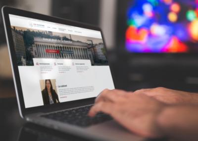 Création site internet cabinet avocat