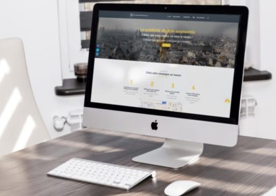 Web banner website